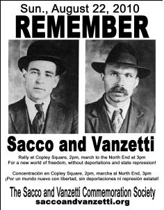 the communist actions of sacco and vanzetti Information about the red scare and the sacco and vanzetti case for kids,   belief that anarchists, communists and other radical groups were conspiring to  start  nicola sacco and bartolomeo vanzetti regarding their radical activities  and as.